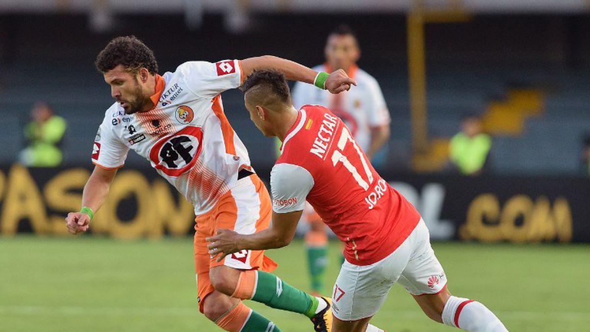Cobresal cae en su paso por Colombia y dice adiós a Copa Libertadores