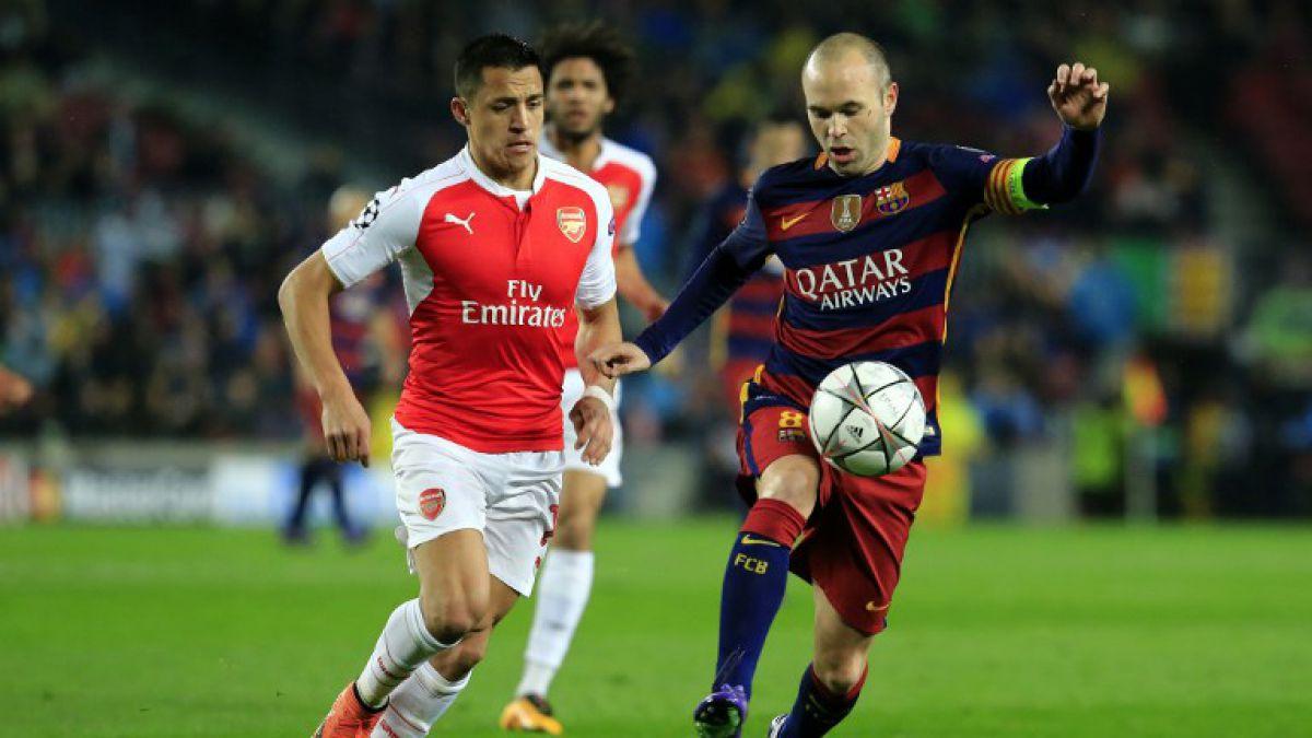 [Minuto a Minuto] Arsenal de Alexis Sánchez está cayendo ante Barcelona en Champions