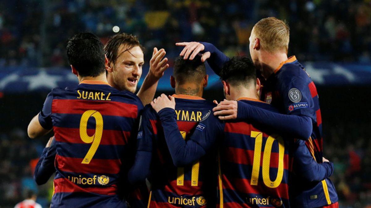 Barcelona derrota al Arsenal y deja a Alexis Sánchez fuera de la Champions