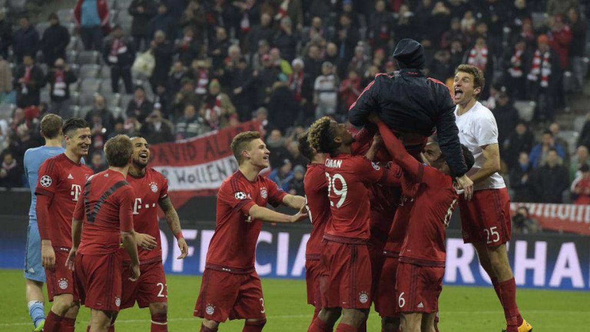 Bayern con Vidal golea a la Juventus en el alargue y está en cuartos de Champions