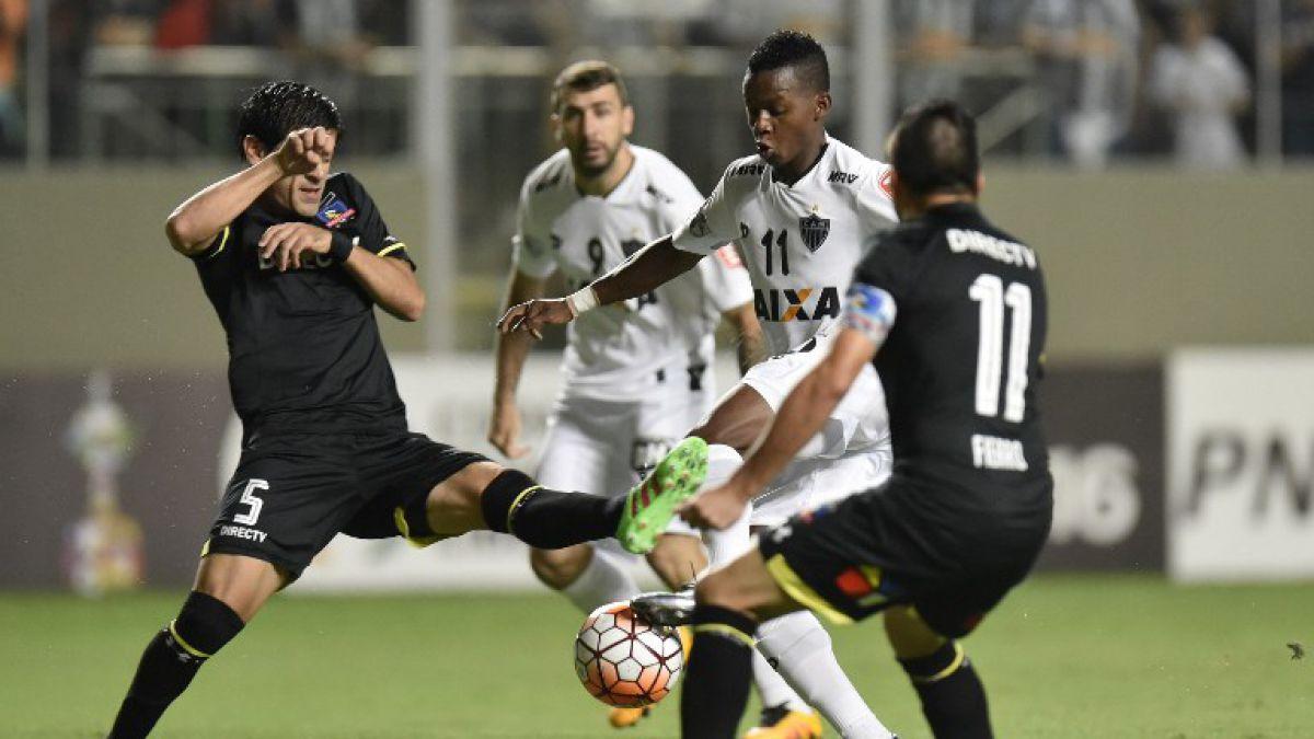Colo Colo cae inapelablemente en Brasil ante Atlético Mineiro por Copa Libertadores