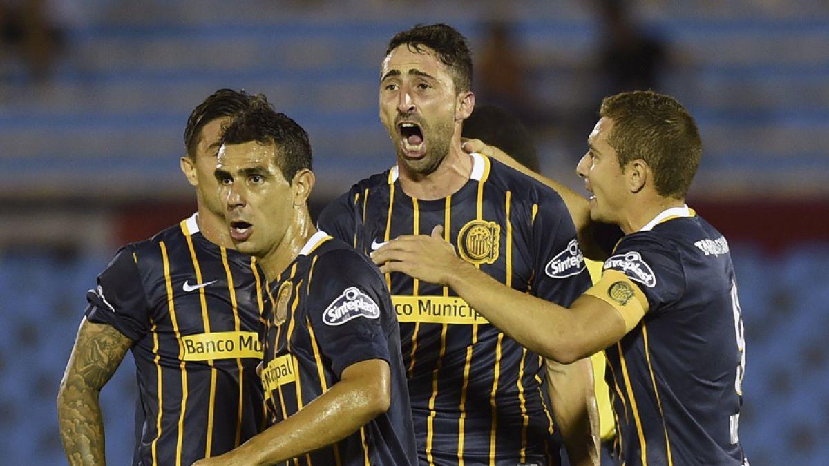 Rosario Central de Marcelo Larrondo gana y sueña con paso a octavos de Copa Libertadores