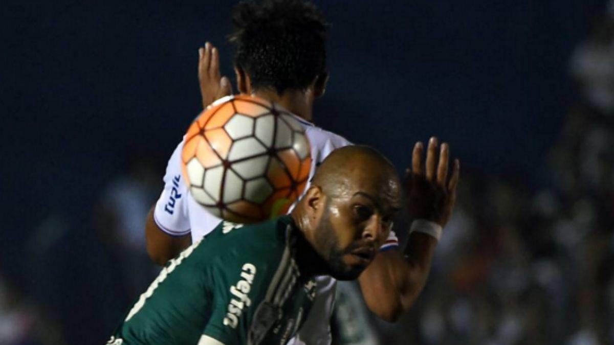 El gesto racista que fue denunciado por los jugadores de Palmeiras ante Nacional
