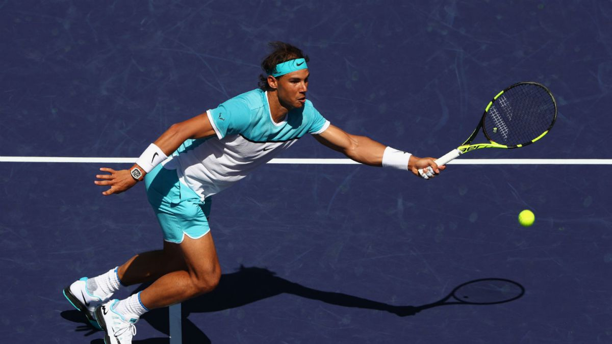 Serena, Djokovic y Nadal salen airosos en partidos cruciales del Indian Wells