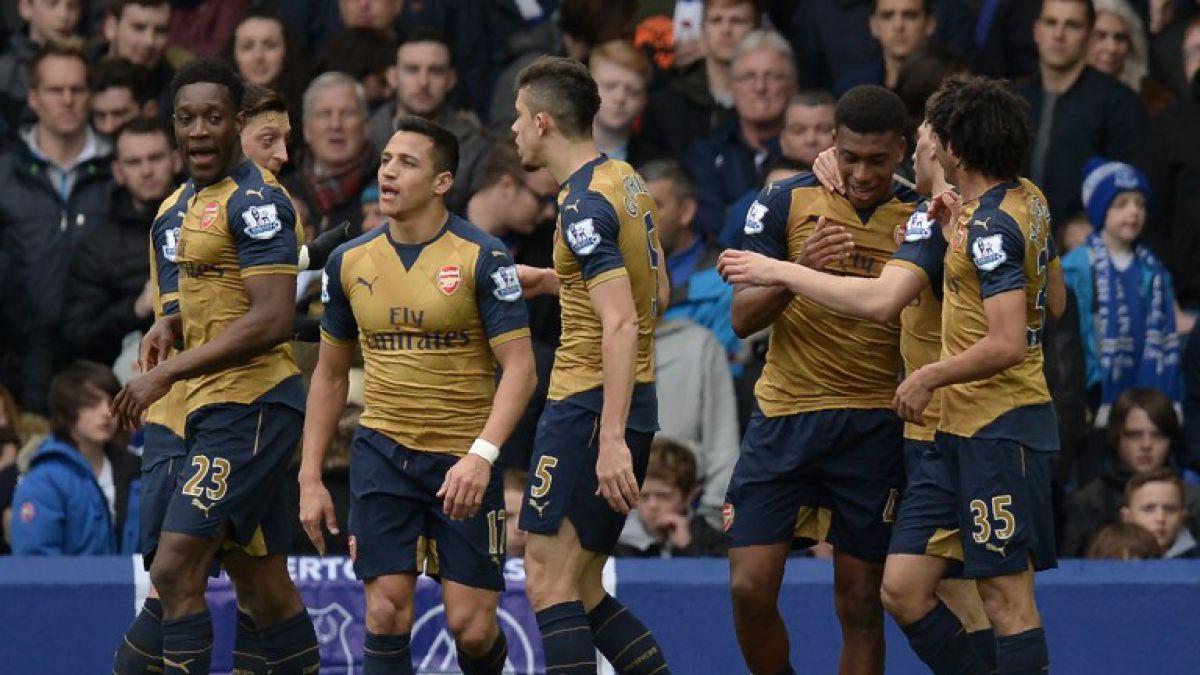 Arsenal con Alexis gana de visita y sigue en la lucha por el título de la Premier