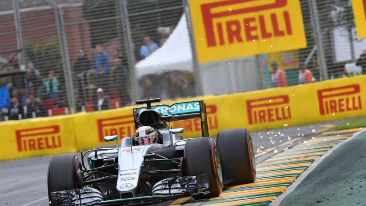 Hamilton logra 50° pole position de su carrera en criticada ronda de clasificación en Australia
