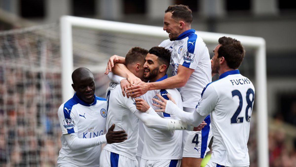 Más cerca de la historia: Leicester gana de visita y sigue intacta la ilusión por el título