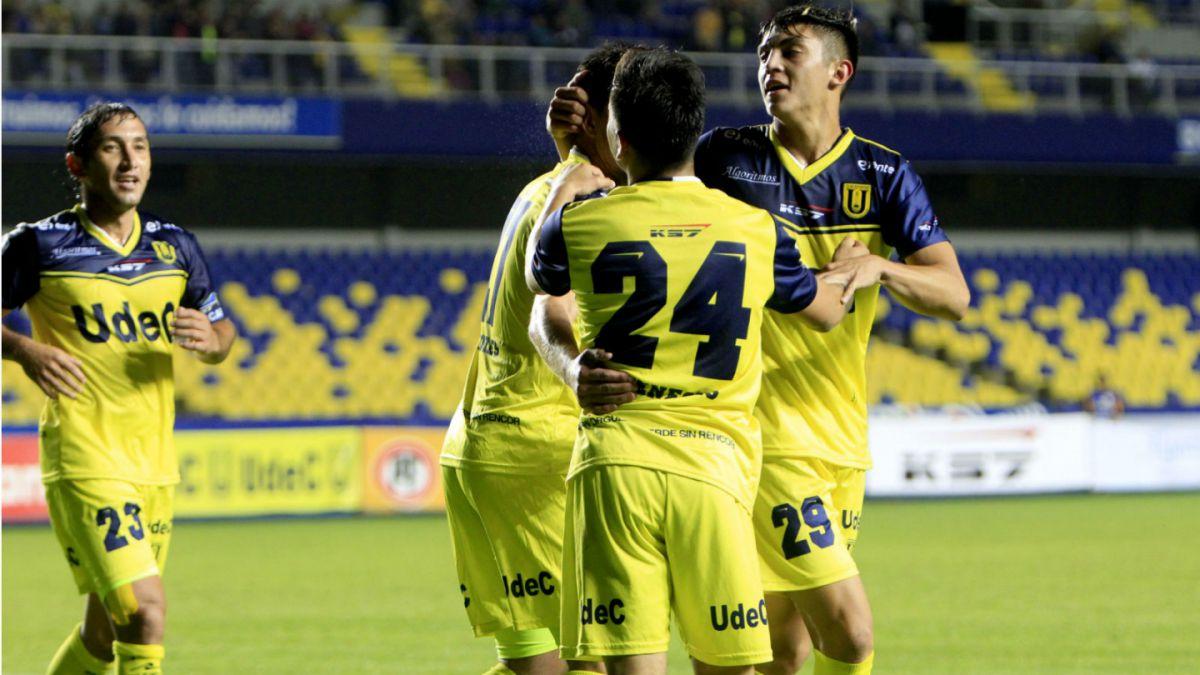 Universidad de Concepción vence a Audax y sigue con su buena racha en el Clausura