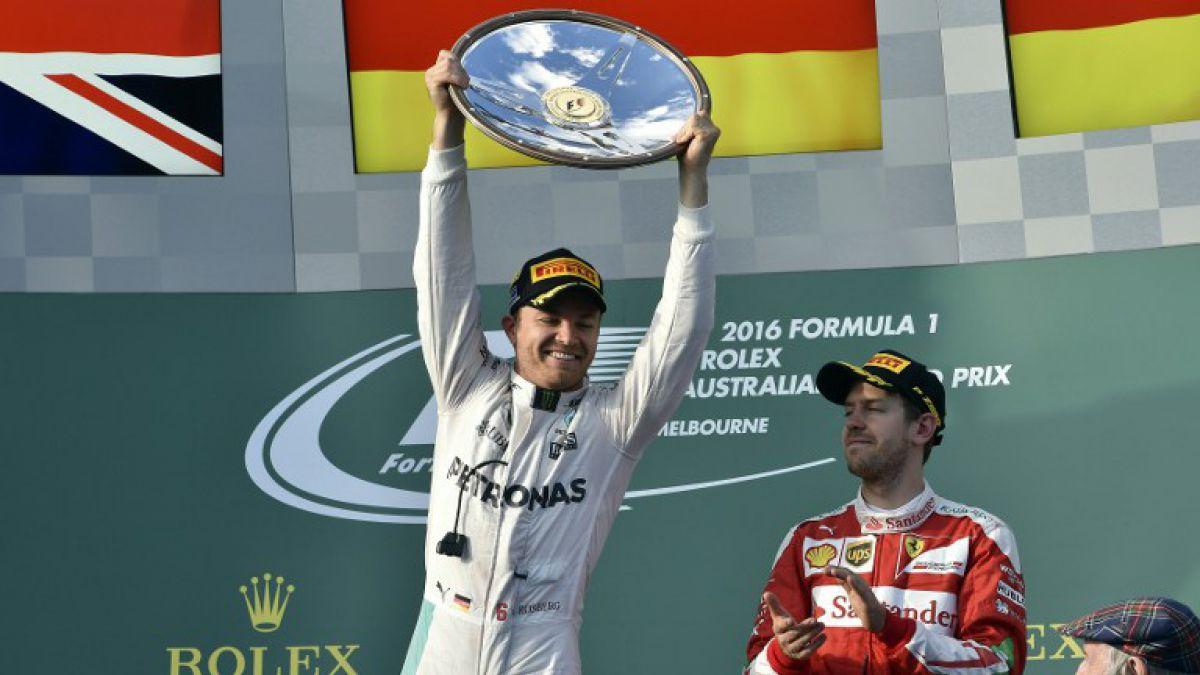 Nico Rosberg junto a Mercedes se lleva el Gran Premio de Australia de Fórmula 1