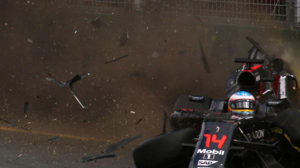 Fernando Alonso tras accidente: He gastado una de las vidas que me quedaban