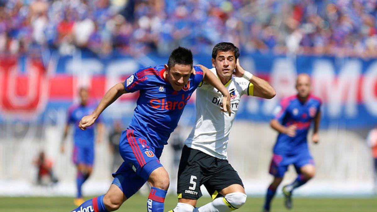 La U y Colo Colo igualan en deslucido Superclásico disputado en el Nacional