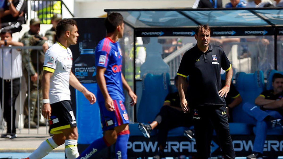 """Sierra asume desgaste de Colo Colo y afirma: """"El punto es beneficioso para nosotros"""""""
