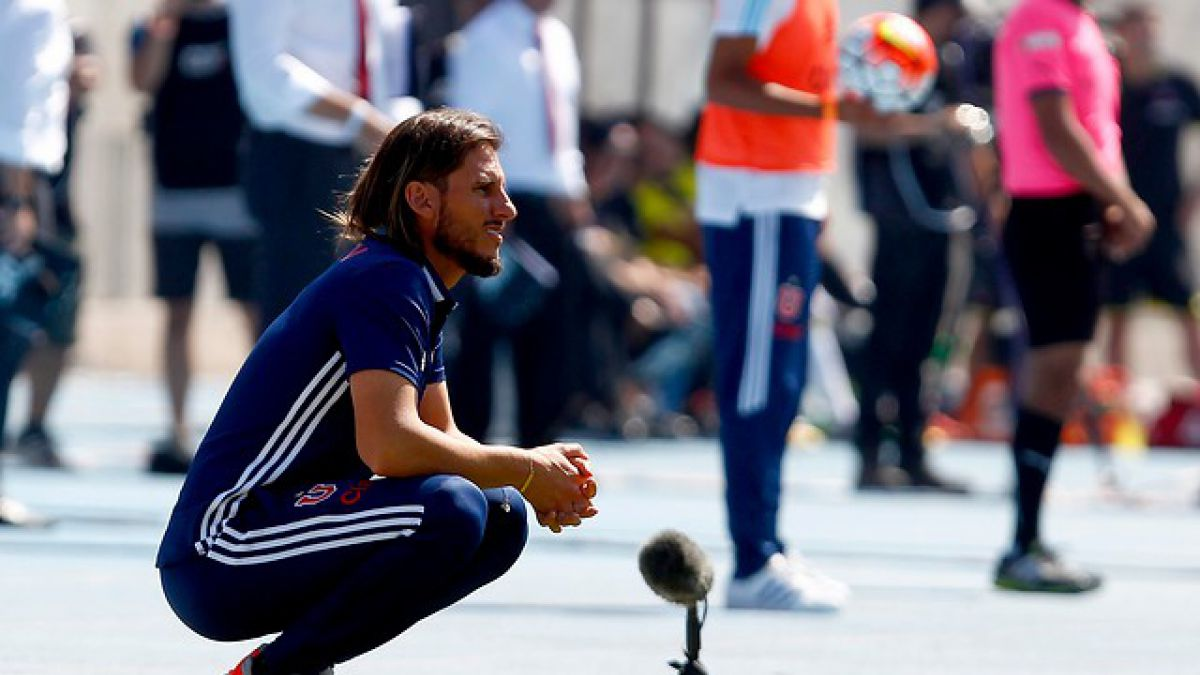 """Beccacece apunta a superioridad ante Colo Colo: """"La U marcó territorio y llego más"""