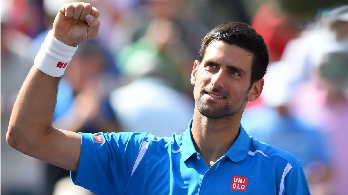 Novak Djokovic arrasa con Raonic y se corona en el Masters 1000 de Indian Wells