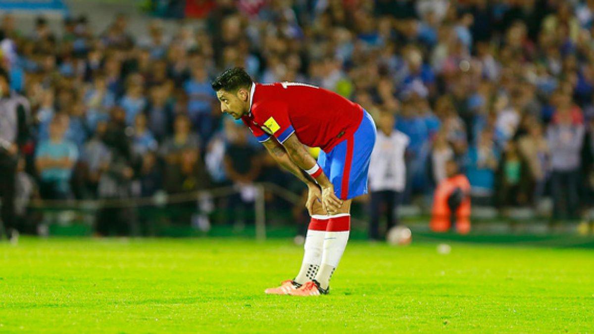 Gonzalo Jara presenta molestias y es duda para duelo ante Argentina