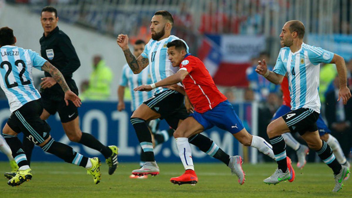 ¿Cómo llegan Chile y Argentina al partido de este jueves por Clasificatorias?