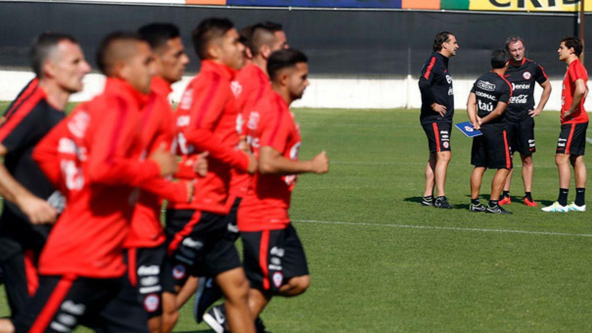 """Así fue el primer día de la selección chilena en la """"era Pizzi"""""""