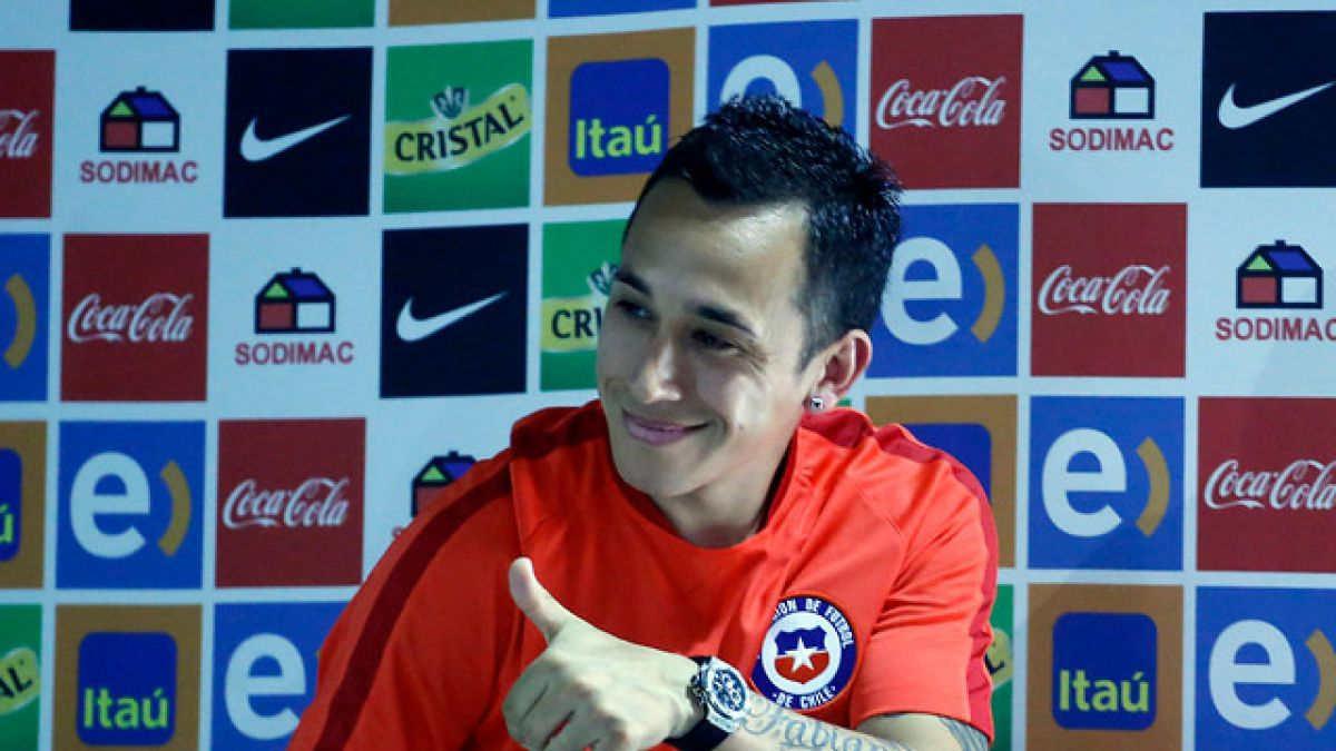 Fabián Orellana recuerda su histórico gol y no le teme a Argentina