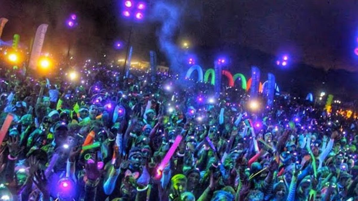 The Color Run Night llega por primera vez a Chile