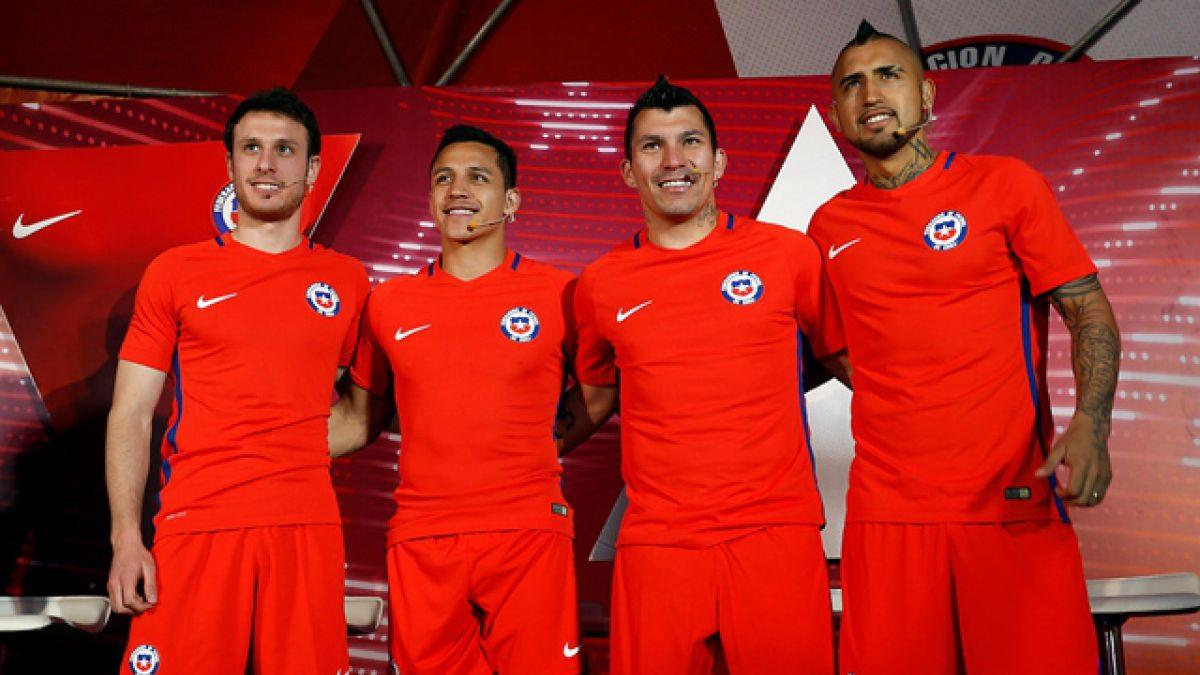 Chile estrenará su camiseta nueva en el duelo ante Argentina