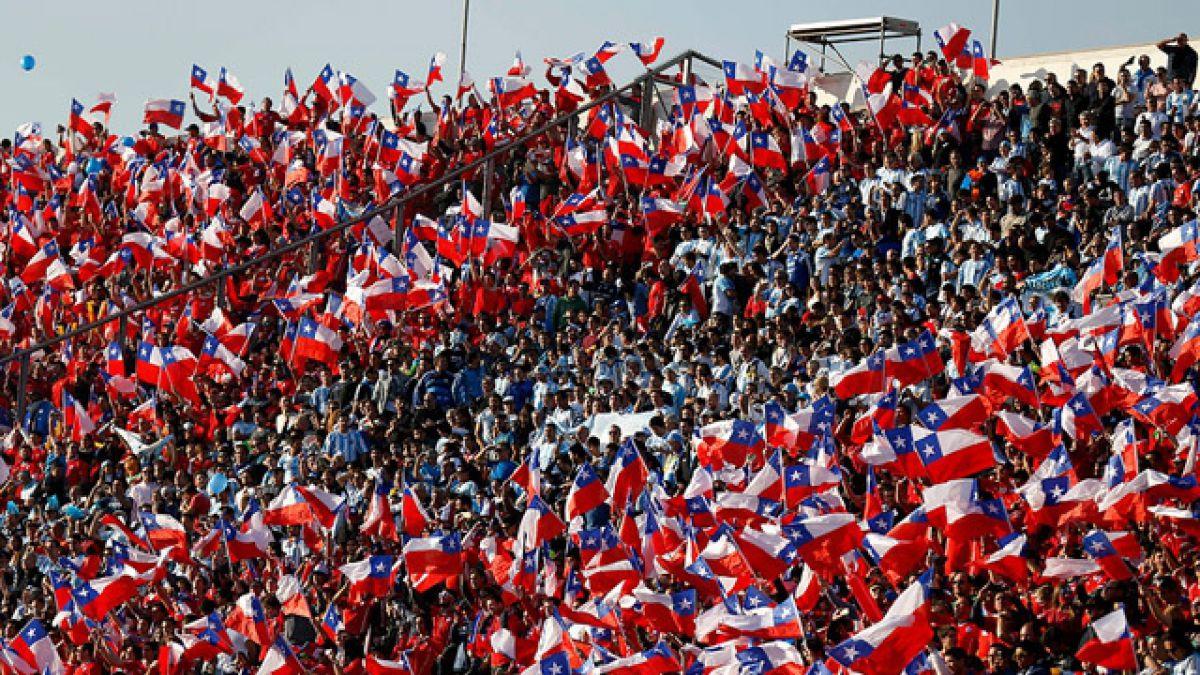 Como en la Copa América: el Chile-Argentina se vivirá con hinchas mezclados