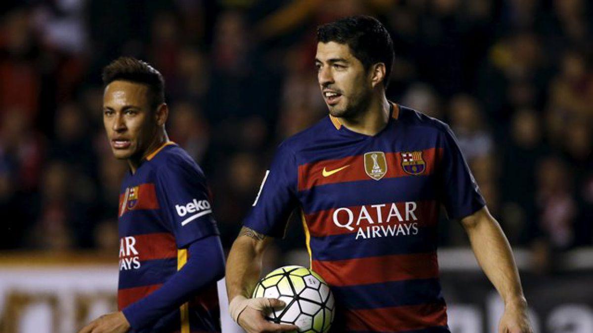 La sencilla apuesta entre Neymar y Luis Suárez para el duelo Brasil-Uruguay