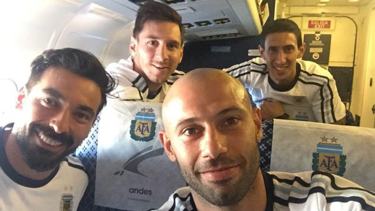 [FOTO] Argentina ya viaja a Santiago para duelo con Chile por Clasificatorias