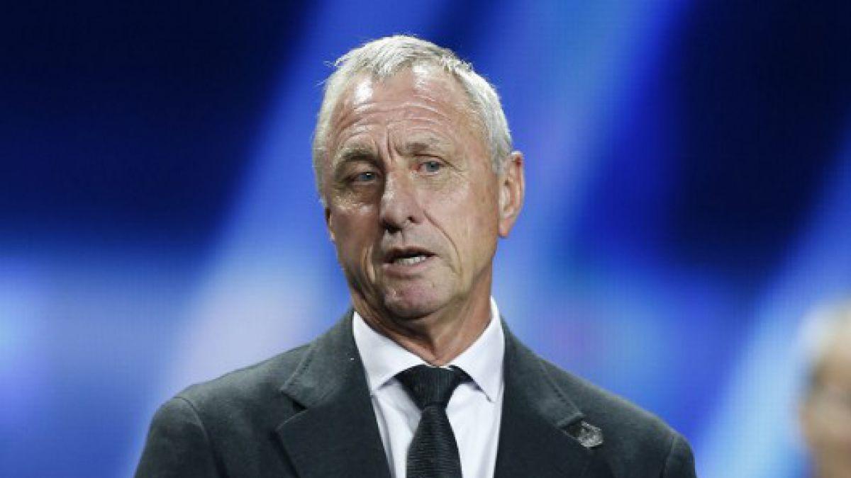 Federación de fútbol de Holanda da sentido mensaje ante fallecimiento de Cruyff