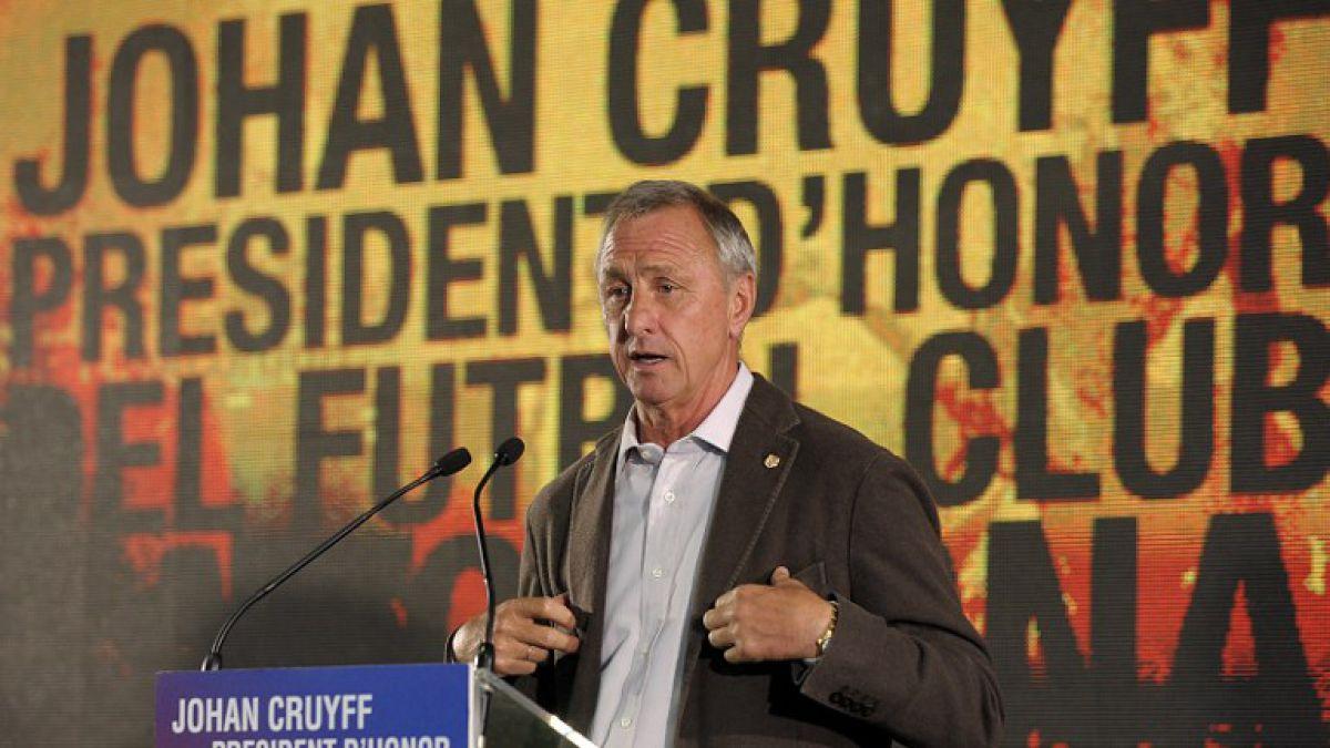 """El día que Johan Cruyff comparó a la Selección Chilena con la """"Naranja Mecánica"""""""