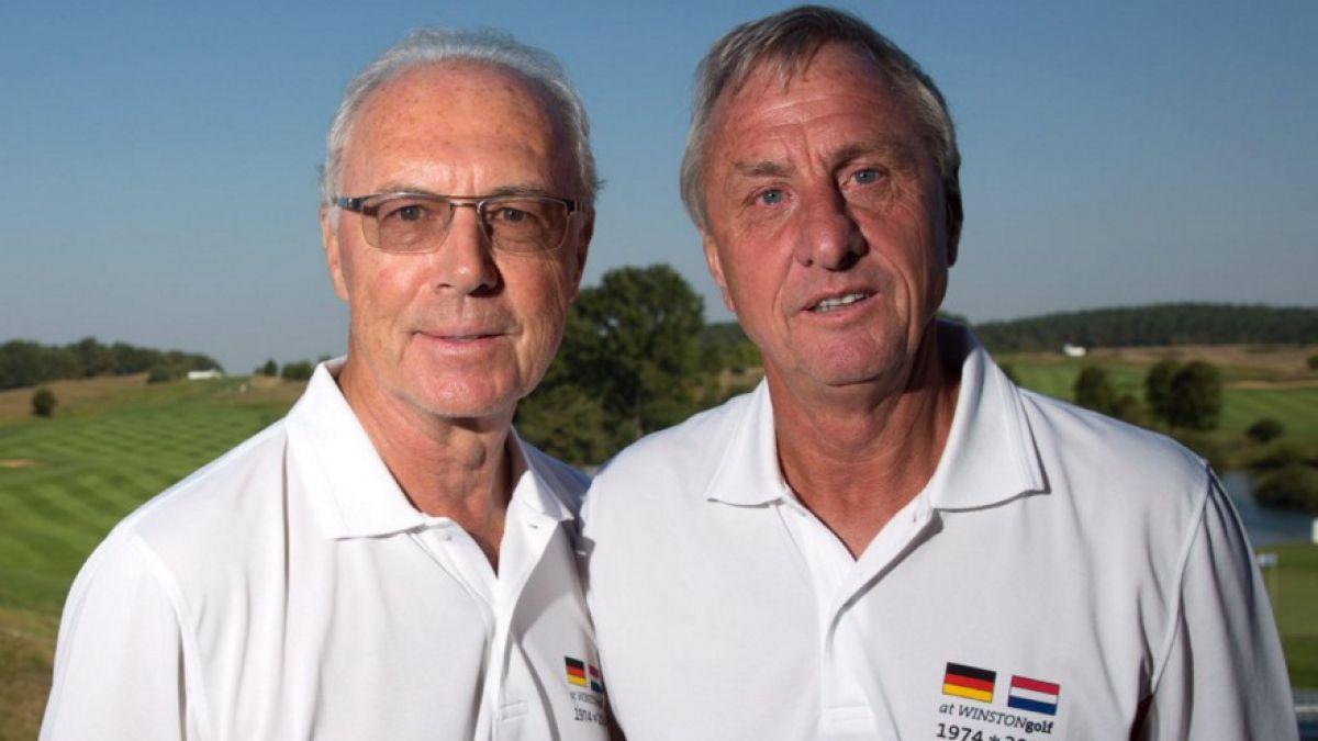 """Beckenbauer afectado tras la muerte Cruyff: """"Era como un hermano para mí"""""""