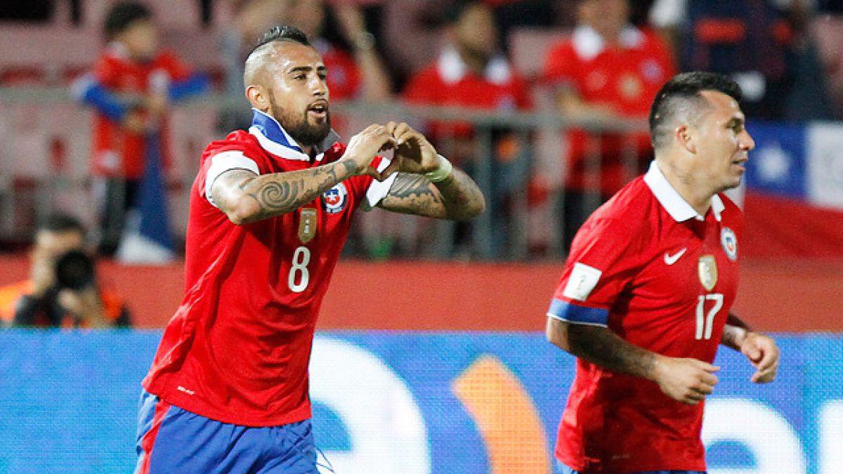 Arturo Vidal explica cómo ganar una de las 100 entradas que regalará para Chile-Argentina