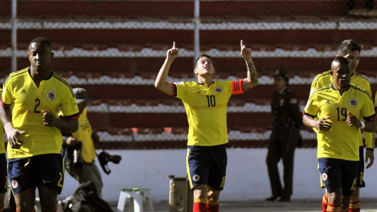 Colombia derrota a Bolivia en la agonía y suma tres valiosos puntos en La Paz