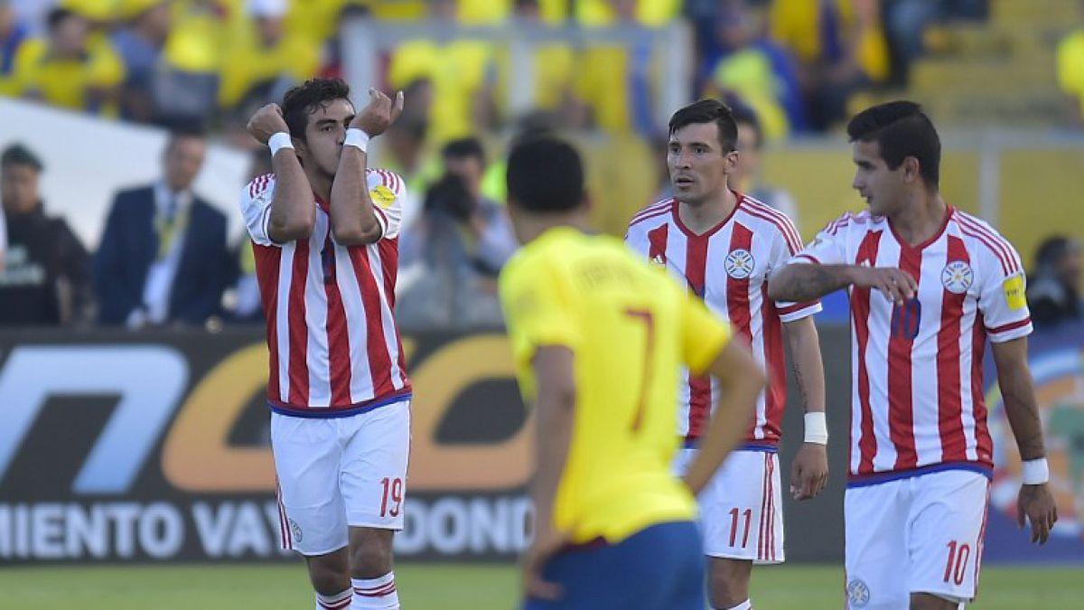 Paraguay sorprende al líder Ecuador y sube al segundo puesto de la tabla
