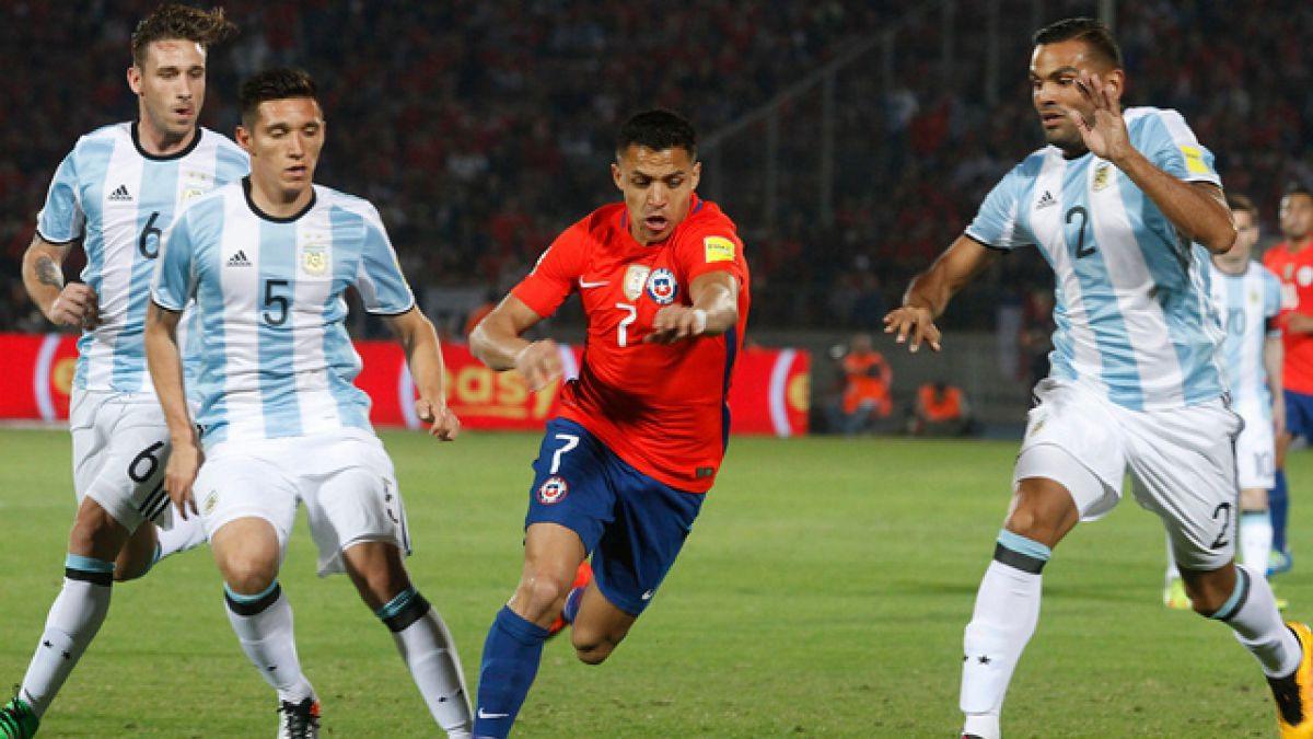 Argentina aprovechó mejor sus oportunidades: estos son los números del partido