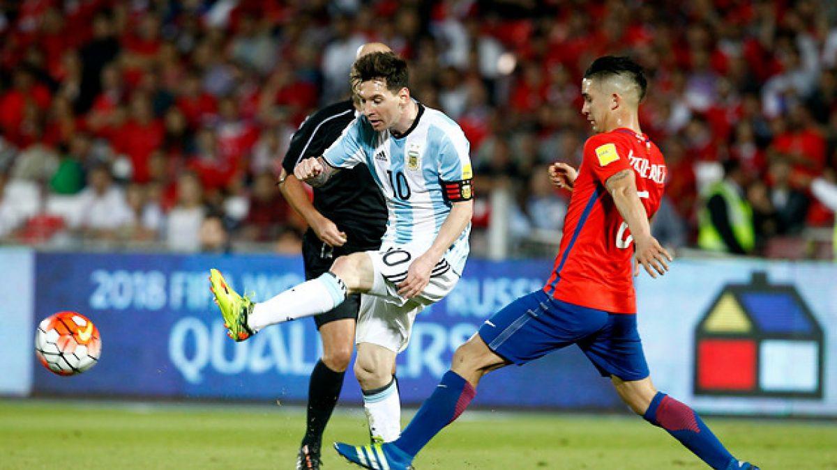 [Minuto a Minuto] Chile está cayendo frente a Argentina en el Estadio Nacional