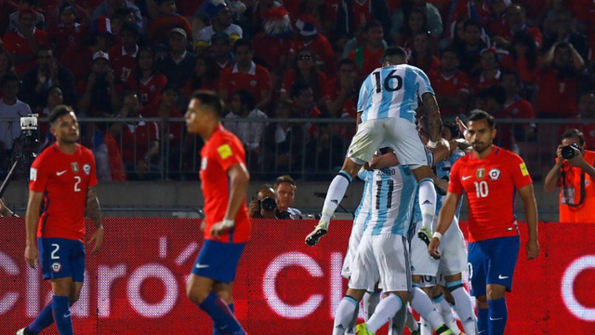 Chile cae frente a Argentina en el primer partido de la era Pizzi