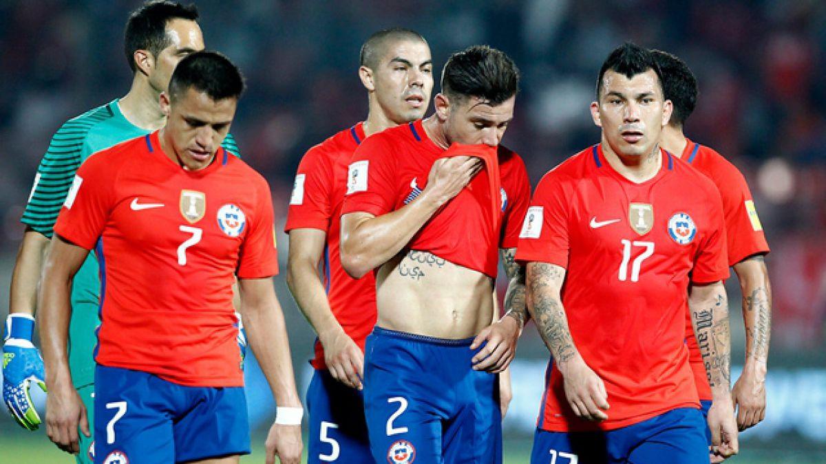 """El Uno a Uno de """"La Roja"""" en la derrota frente a Argentina"""