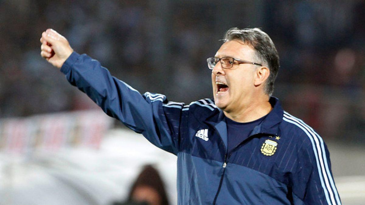 """Martino destaca intensidad de Chile y apunta: """"Ganar aquí permite recuperar la confianza"""""""