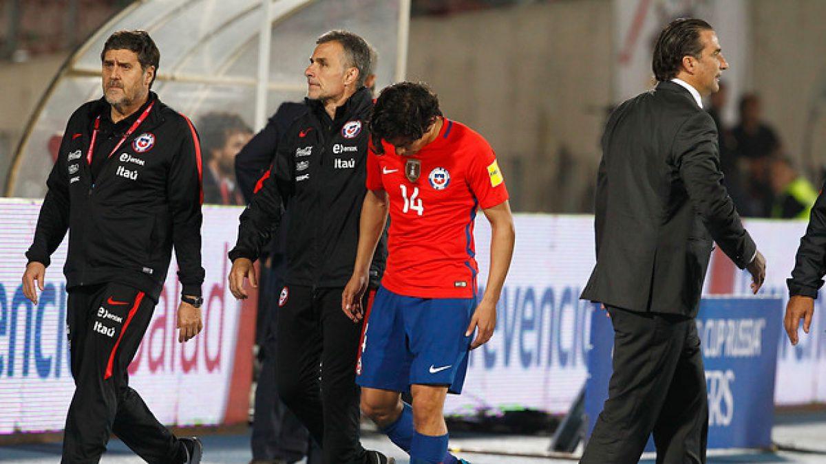 Se confirma lesión de Matías Fernández que lo deja fuera de la Copa América Centenario