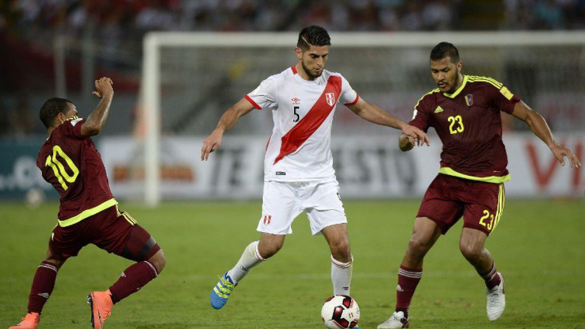 Perú rescata un empate en el último suspiro y Venezuela llegará al duelo con Chile sin triunfos