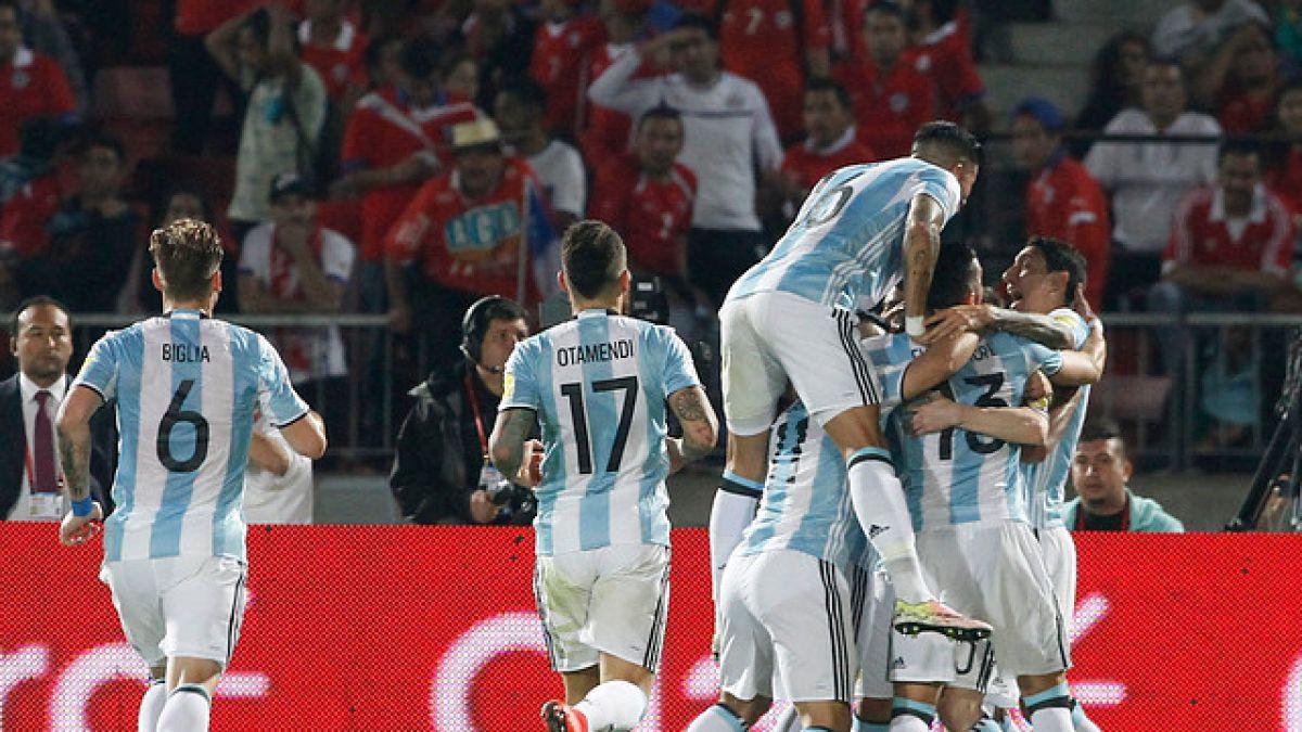 Así la selección argentina festejó por redes sociales el triunfo ante La Roja