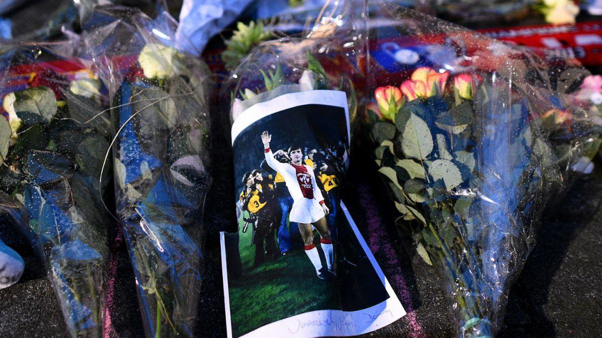 Holanda rendirá homenaje a la leyenda del fútbol Johan Cruyff