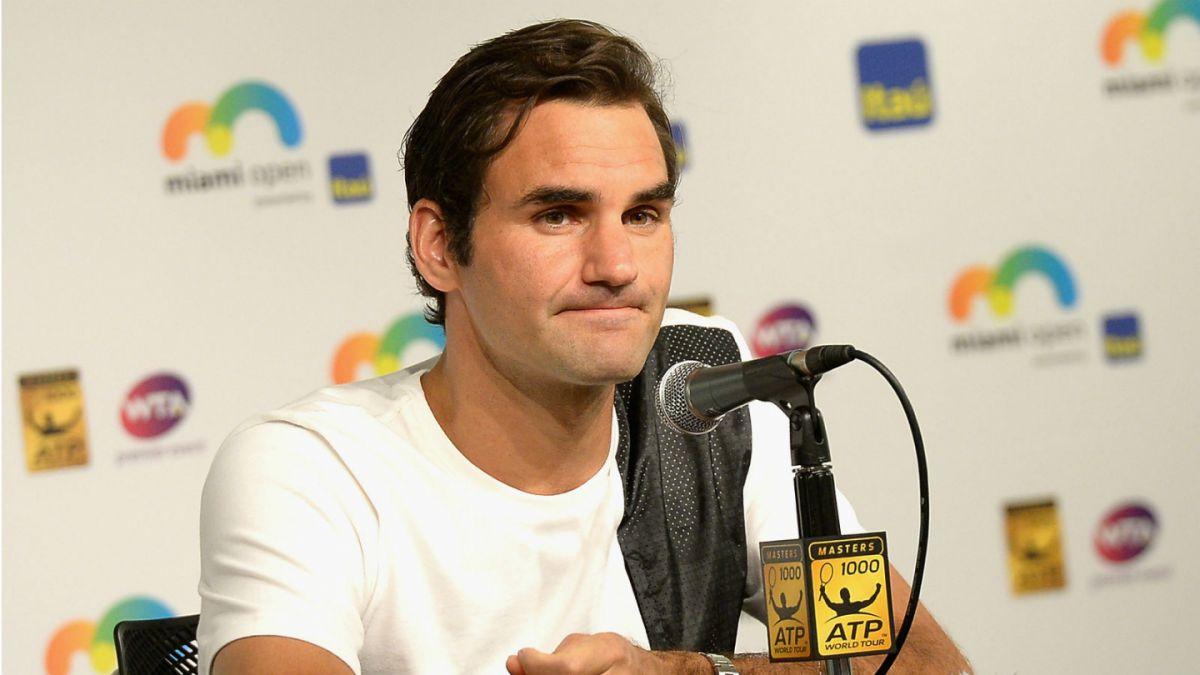 No habrá duelo Federer vs. del Potro: El tenista suizo se retira del Masters 1000 de Miami