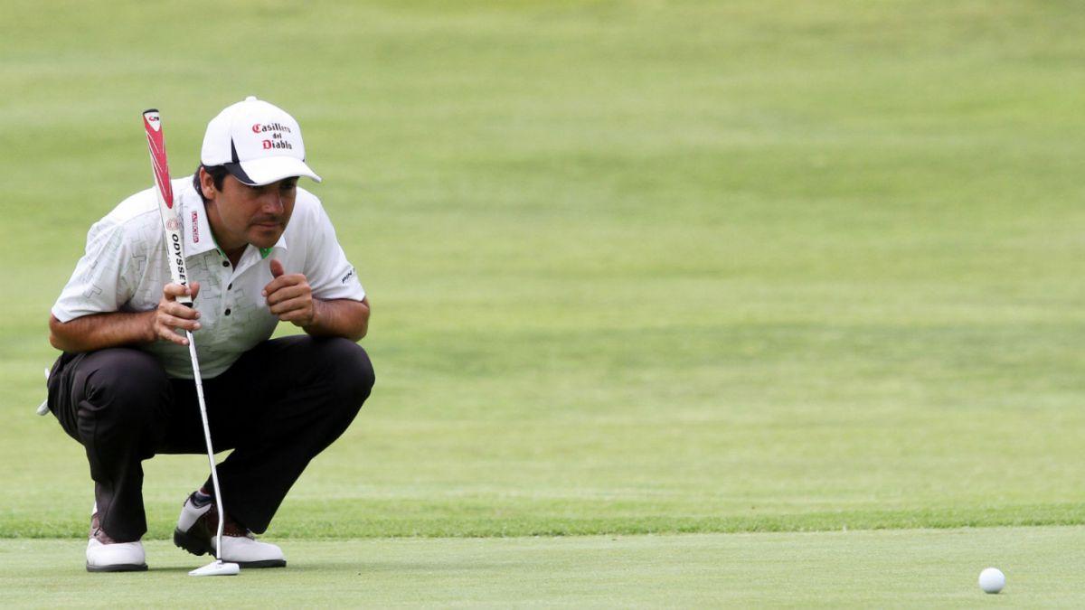Golf: Felipe Aguilar y Benjamín Alvarado se desafían en Marbella