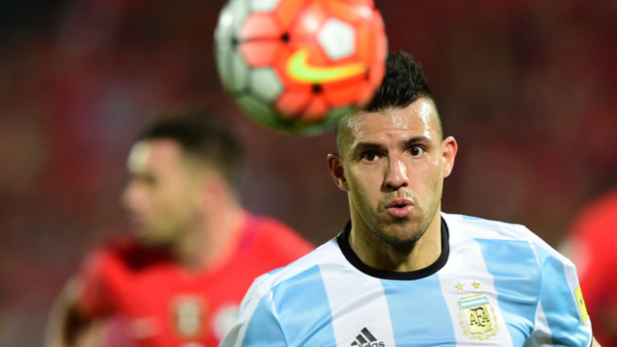 """Sergio Agüero: """"No tengo duda de que Chile irá al Mundial"""""""