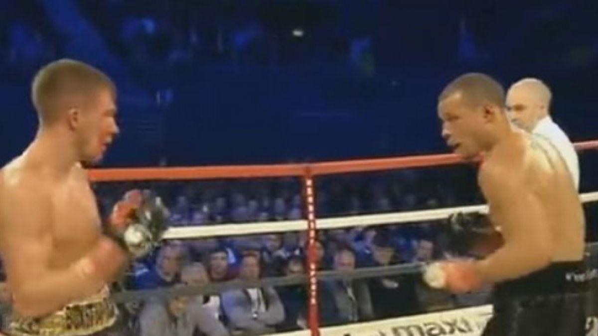 Boxeador británico recibe golpe en la cabeza y queda en coma inducido