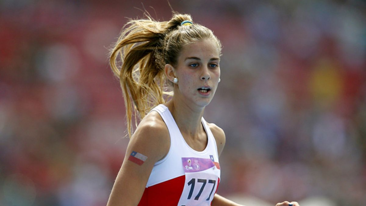 Isidora Jiménez gana medalla de oro en Ecuador con segunda mejor marca de su carrera en 200m