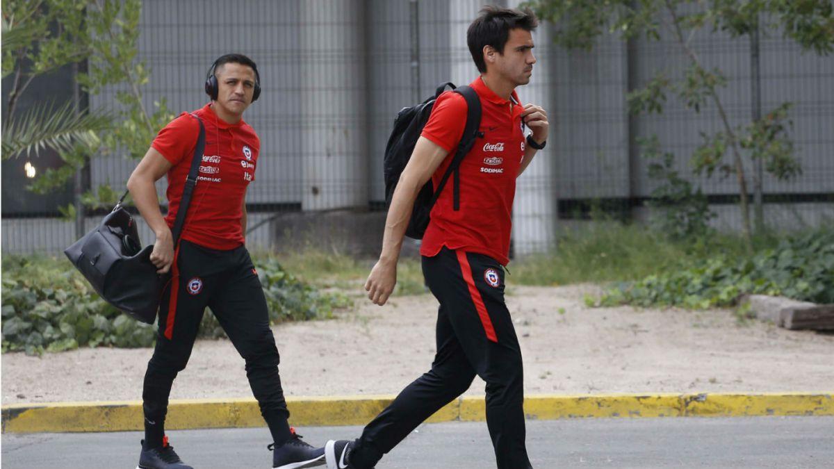 La selección chilena arriba a Barinas para enfrentarse a Venezuela