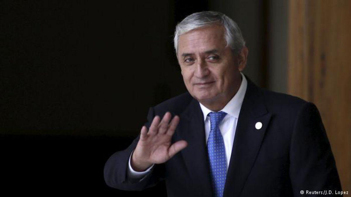 Guatemala: suspenden audiencia de Otto Pérez Molina