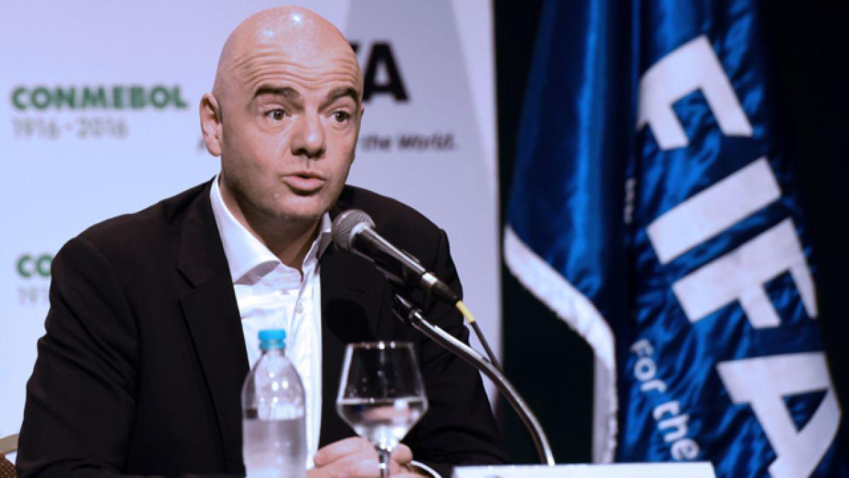 Infantino llega a Montevideo con visto bueno a Mundial 2030 en Uruguay y Argentina